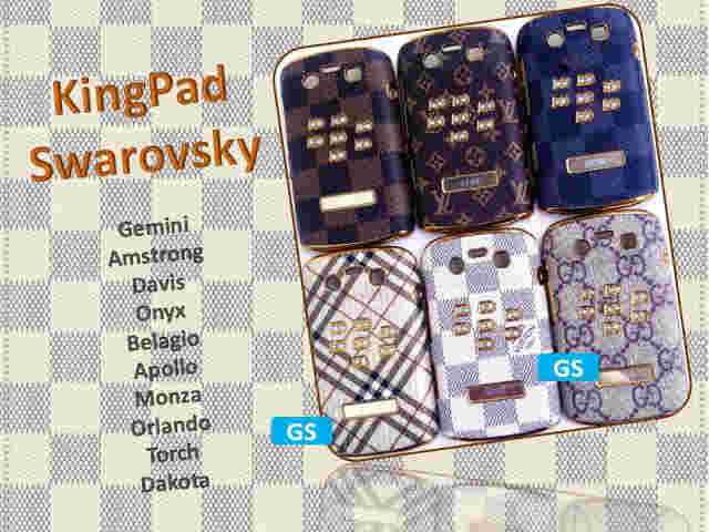 Hard Case kingPad swarovsky louis Vuitton BB