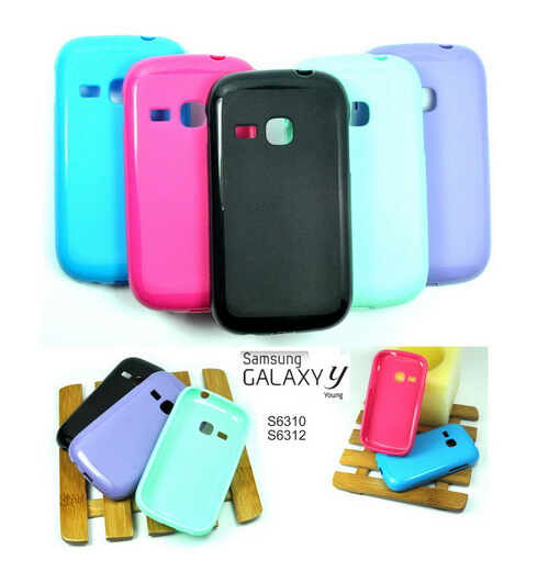 Soft shell Glossy samsung galaxy Young New - S6310