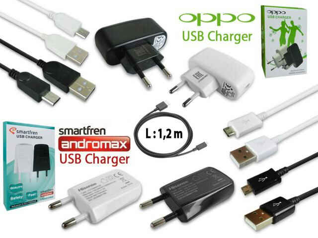 Charger Oppo dan Andromax