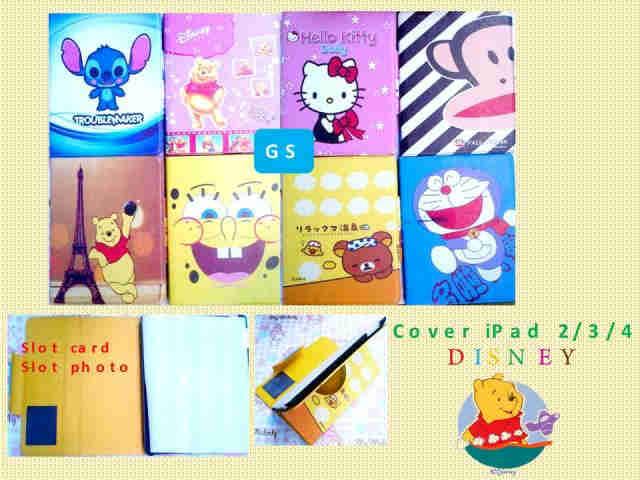 IMPORTIR Cover iPad 2/3 Disney JAKARTA MURAH