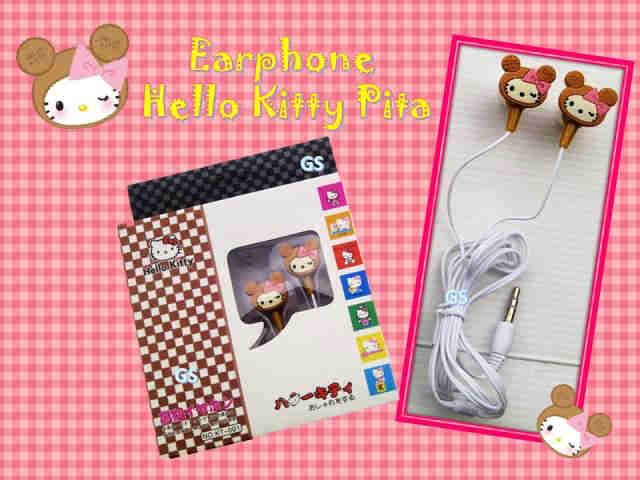 Grosir Terlengkap dan Murah Earphone Hello Kitty di Jakarta