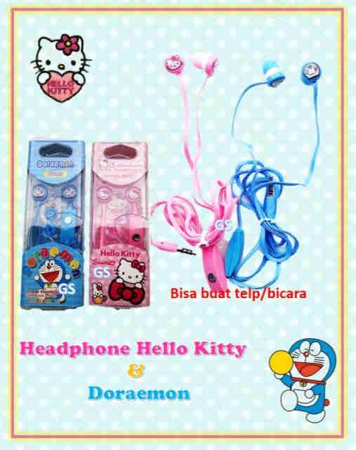 Grosir Terlengkap dan Termurah Headphone Hello Kitty Berkualitas
