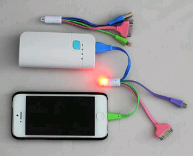 kabel warna powerbank