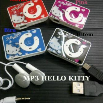 Distributor Terlengkap MP3 Hello Kitty Termurah Berkualitas