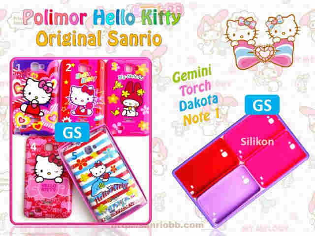 IMPORTIR Soft case hello  kitty BB JAKARTA MURAH