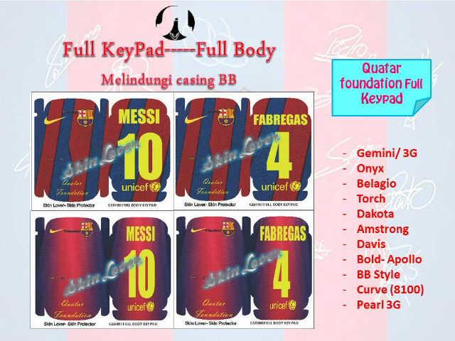 IMPORTIR Skin Barca Messi JAKARTA MURAH