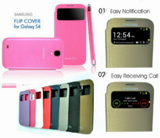 flipcover View Samsung S4