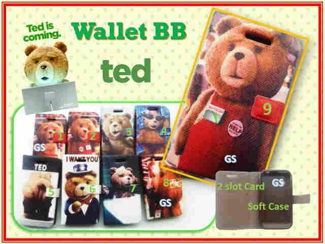 wallet lucu handphone