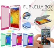 Distributor Termurah Case Hp Jelly Flip Box di Jakarta