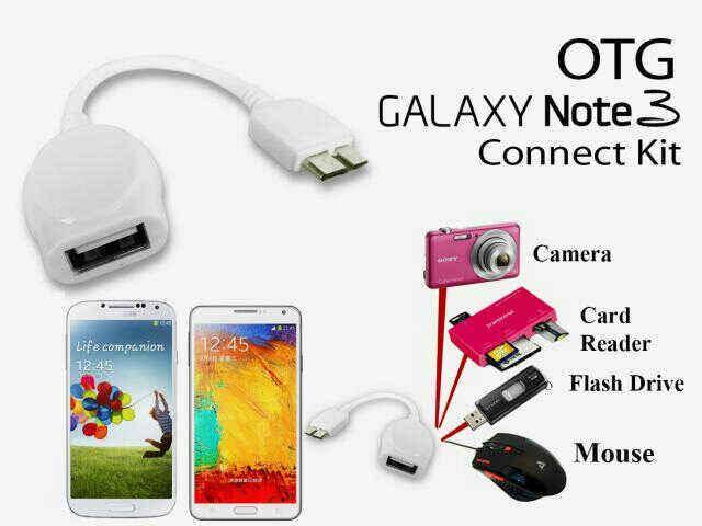 Distributor Termurah Kabel USB OTG/Connection Kit di Jakarta