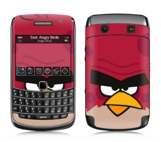 Skin Onyx  Angry bird