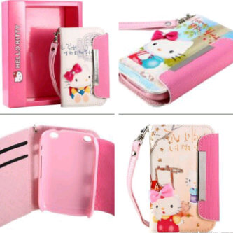LEATHER CASE HELLO KITTY KOREAN STYLE