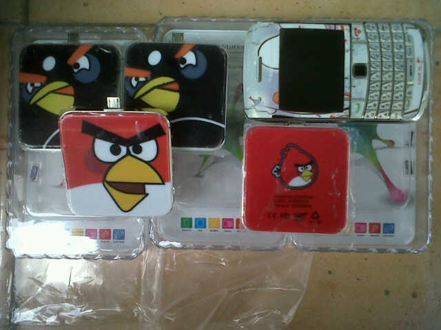 Portable  CHargerR BB Angry  Bird