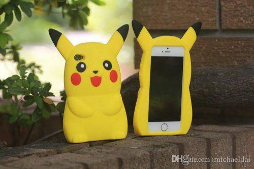 Grosir besar silikon boneka karakter iphone