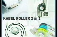Distributor Termurah Kabel Charger Roller 2in 1 Berkualitas