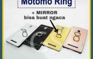 Distributor Terlengkap Case Hp Motomo Mirror+Ring di Jakarta