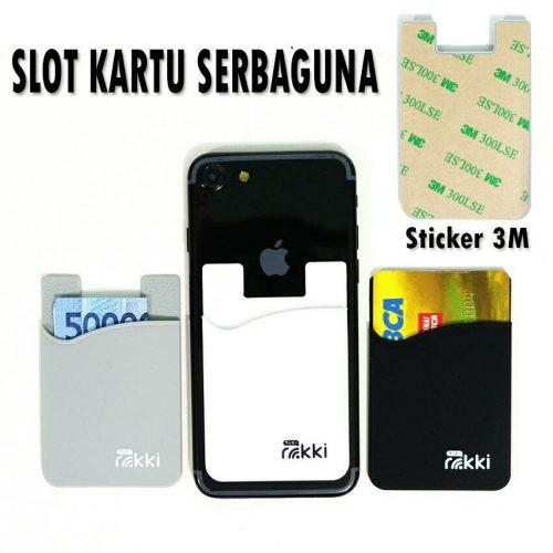 RUBBER SLOT CARD HP
