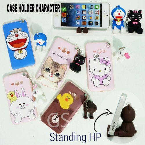 Distributor Case Hp Holder Character Terbaru