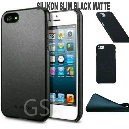 GROSIR TERMURAH SILIKON BLACK MATTE