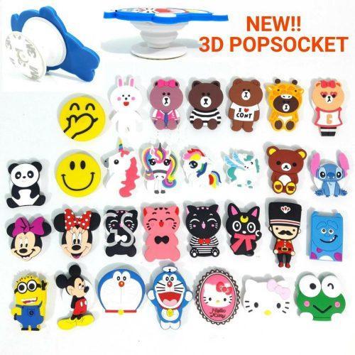 Distributor Popsocket Boneka 3D Hp