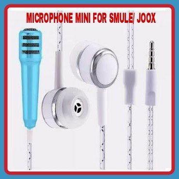 """GROSIR BESAR MICROPHONE MINI FOR SMULE/JOOX"""