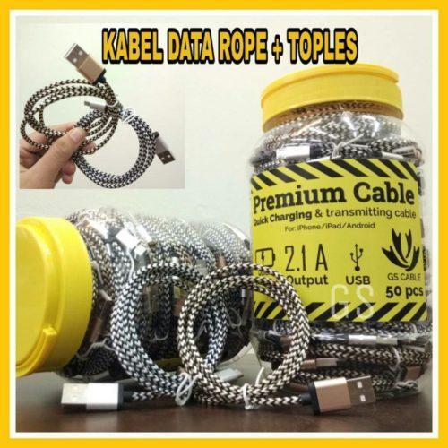 Distributor Terbesar Kabel Data Rope+Toples Berkualitas