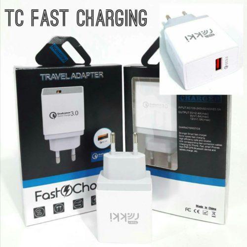Distributor Batok Charger Fast Charging Rakki Berkualitas
