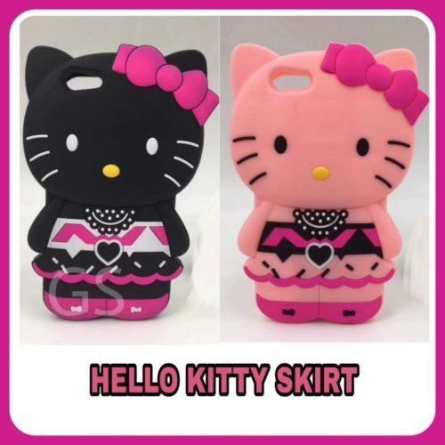 Distributor Terlengkap dan Terbesar Case Hp Silikon Hello Kitty Skirt di Jakarta