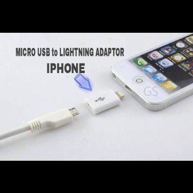 Distributor Kabel Micro USB to Lightning Adaptor Iphone