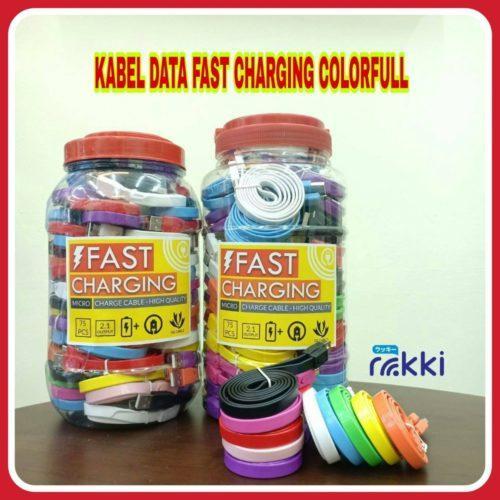 Distributor Terbesar Kabel Data Colorfull Fast Charging di Jakarta