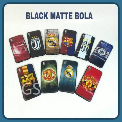 Grosir Case HP Black Matte Bola