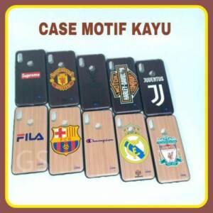 Distributor Case Motif Kayu