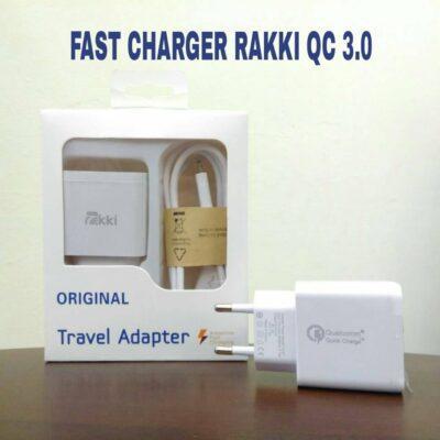 Distributor Fast Charger RAKKI QC 3.0