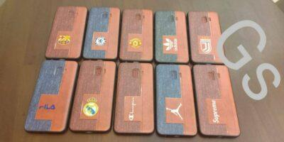 Distributor Grosir Case HP Motif Kulit Denim Jeans