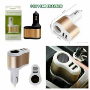 Supplier Car Charger 3 in 1