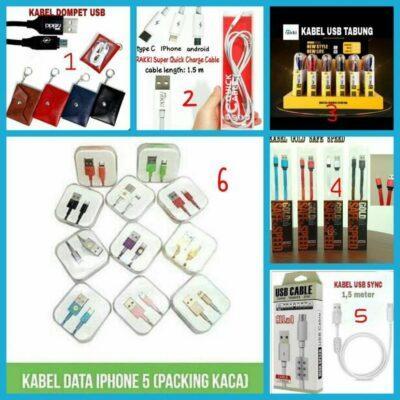 Distributor Kabel Data USB Charger Terlengkap Di Jakarta