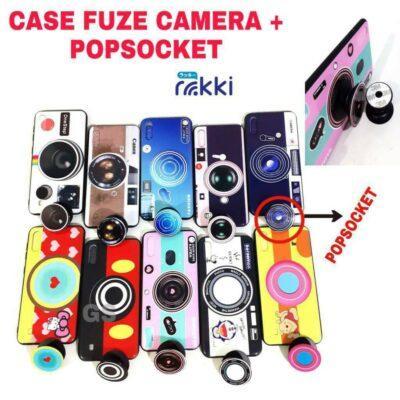 Case hp model camera dan popsocket