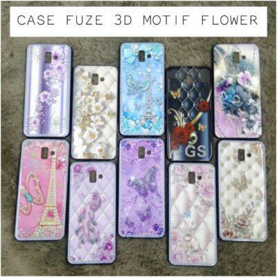 Grosir Case Fuze 3D Motif Flower Di Jakarta