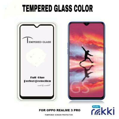 Grosir Tempered Glass Color Full Screen Tipe HP Termurah