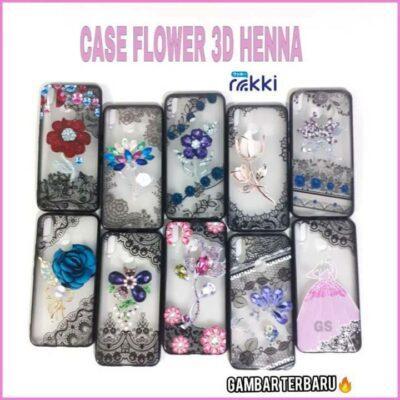 Distributor Case Flower Henna 3D Di Jakarta