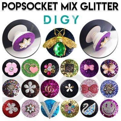 Grosir Termurah Pop Socket Glitter
