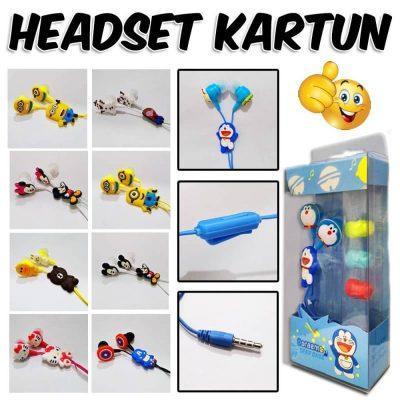 Distributor grosir headset kartun di roxy