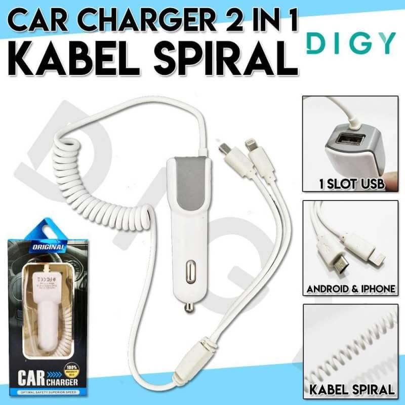 Grosir Terlengkap Charger Mobil + Kabel