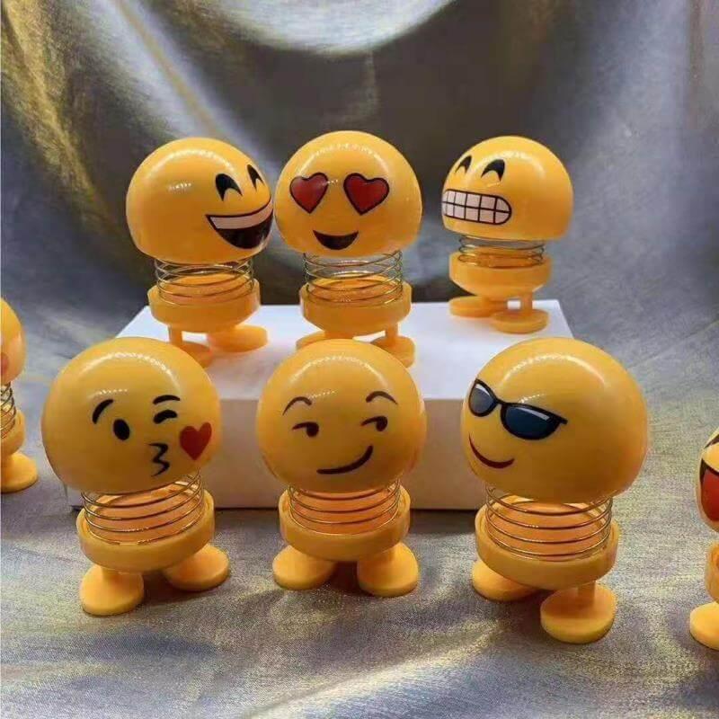 Pusat Langsung Grosir Boneka Bergoyang  Emoticon