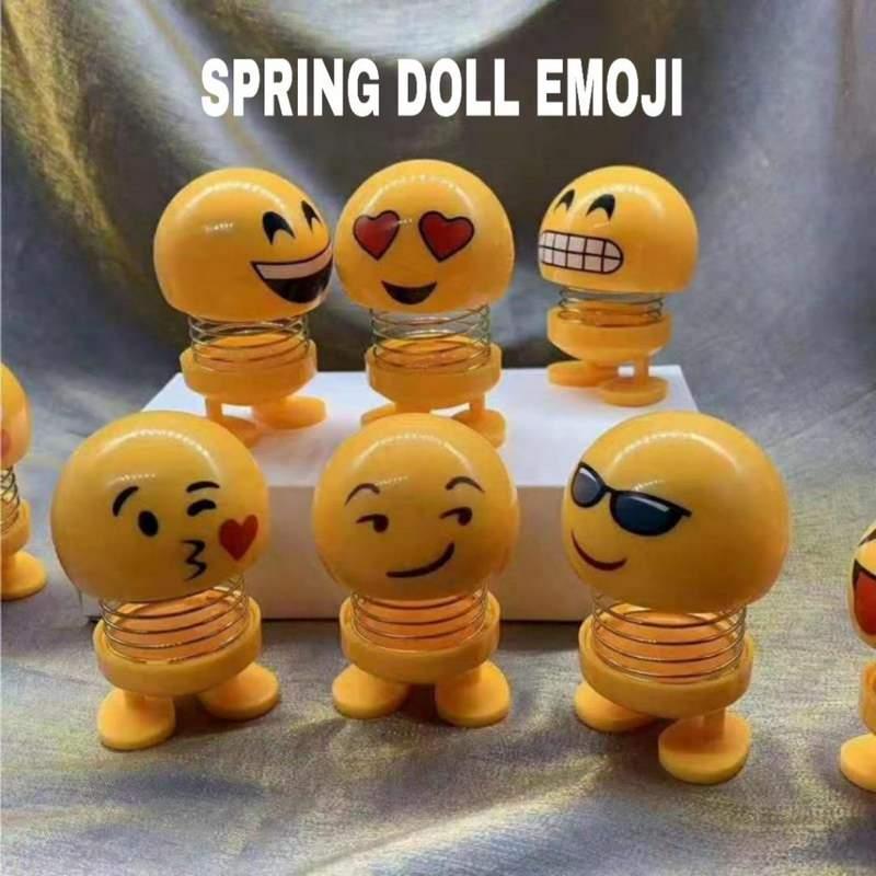 Grosir termurah spring doll emoji