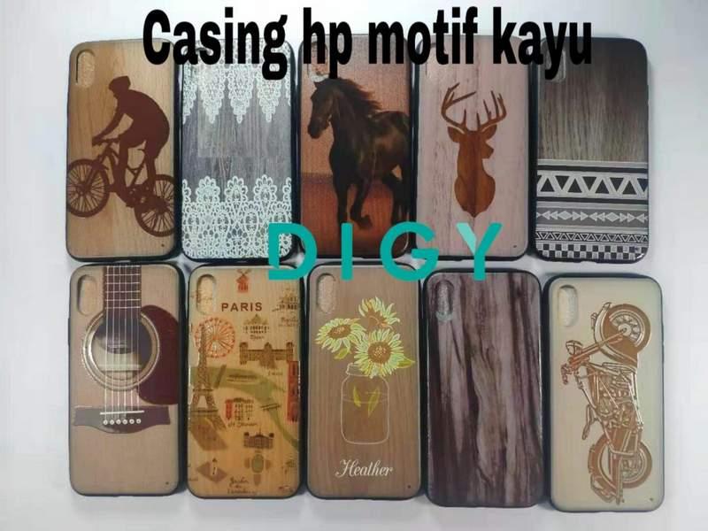 Distributor casing hp motif gambar