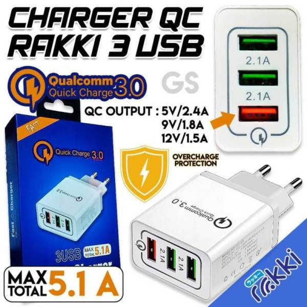 Grosir Charger Qc 3.0 usb