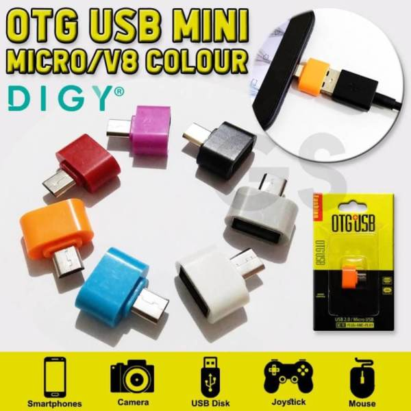Otg usb mini micro v8
