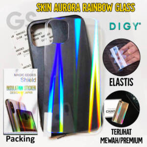 Grosir Distributor Garskin Aurora Rainbow Glass Murah Jakarta