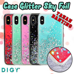 Grosir Distributor Case Glitter Sky Foil Murah Jakarta